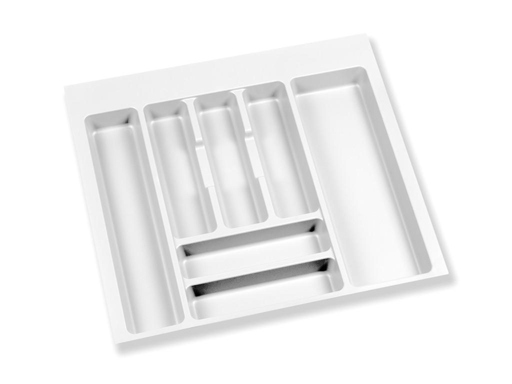 Cubertero de PVC Nova blanco
