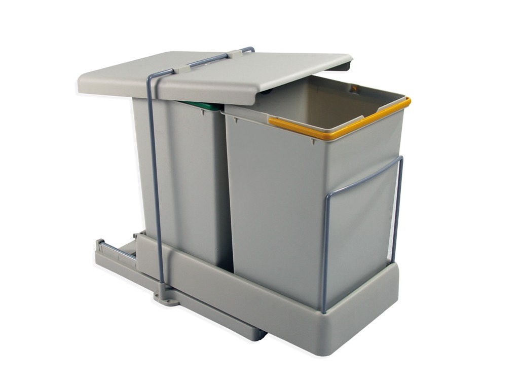 Accesorios de cocina de dise o - Cubo basura puerta ...