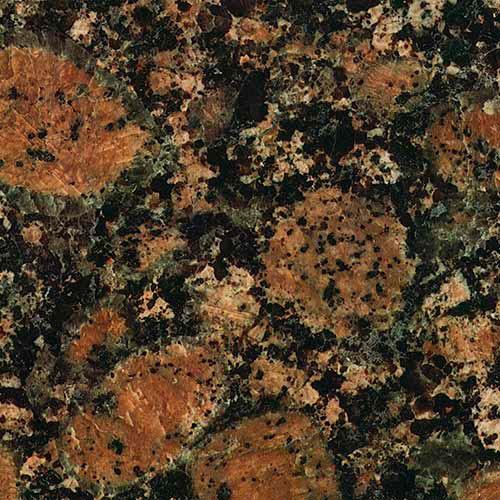Encimeras de cocina de granito for Granito color marron