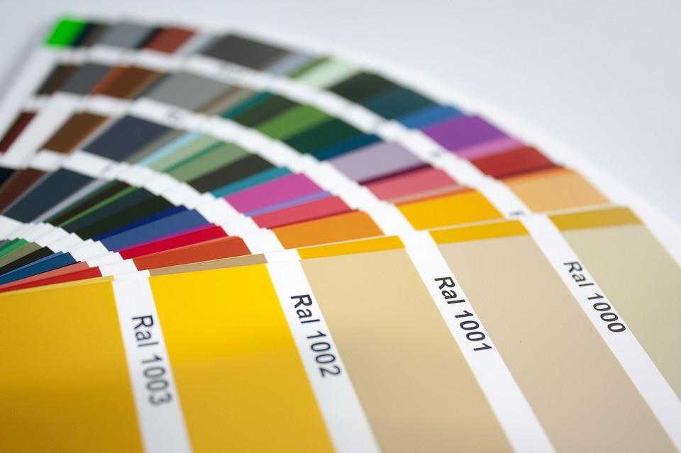 paleta de colores ral para fregaderos sinteticos